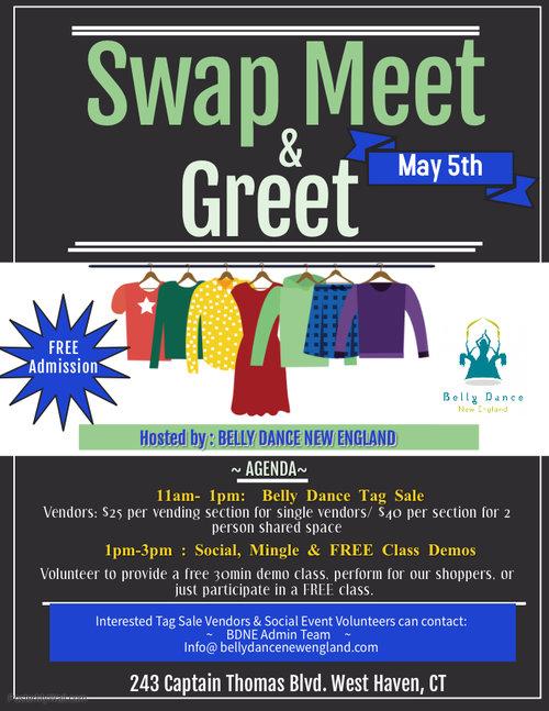 Swap Meet & Greet