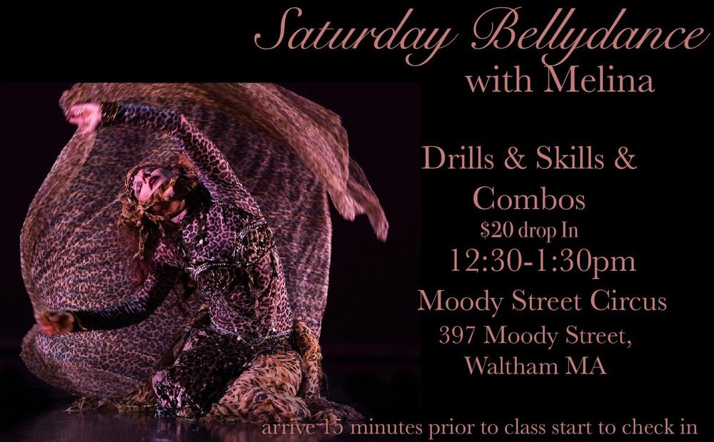 Saturday Belly Dance with Melina
